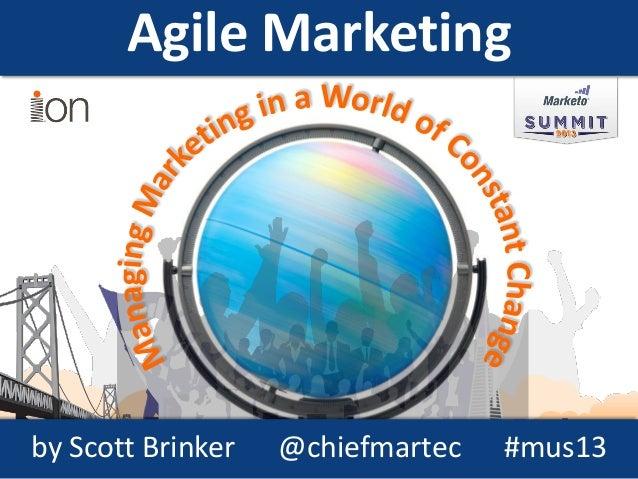 Summit 2013 - Scott Brinker Presentation