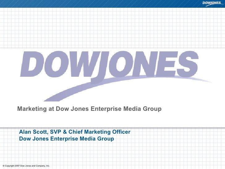 New Marketing Summit: Bringing Web 2.0 to Dow Jones