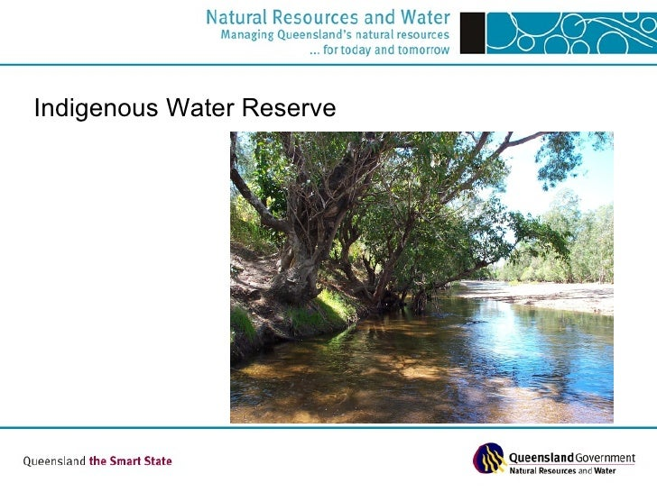 Indigenous Water Reserve