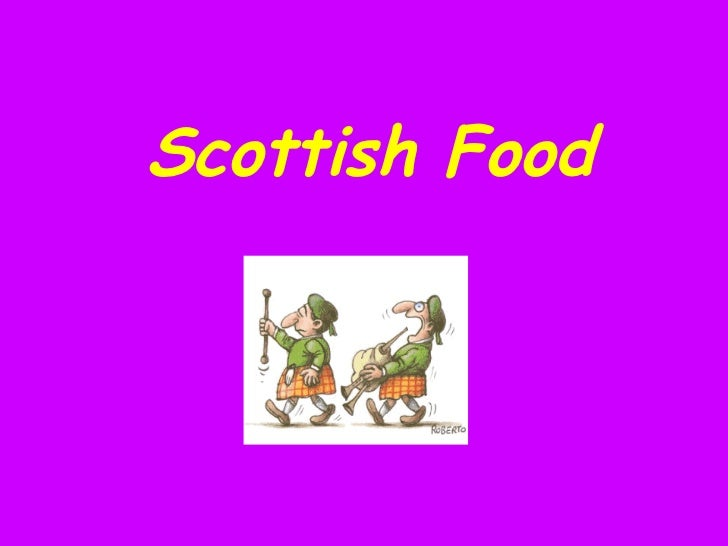 Scottish Food