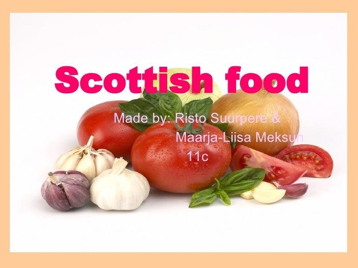 Scottich food