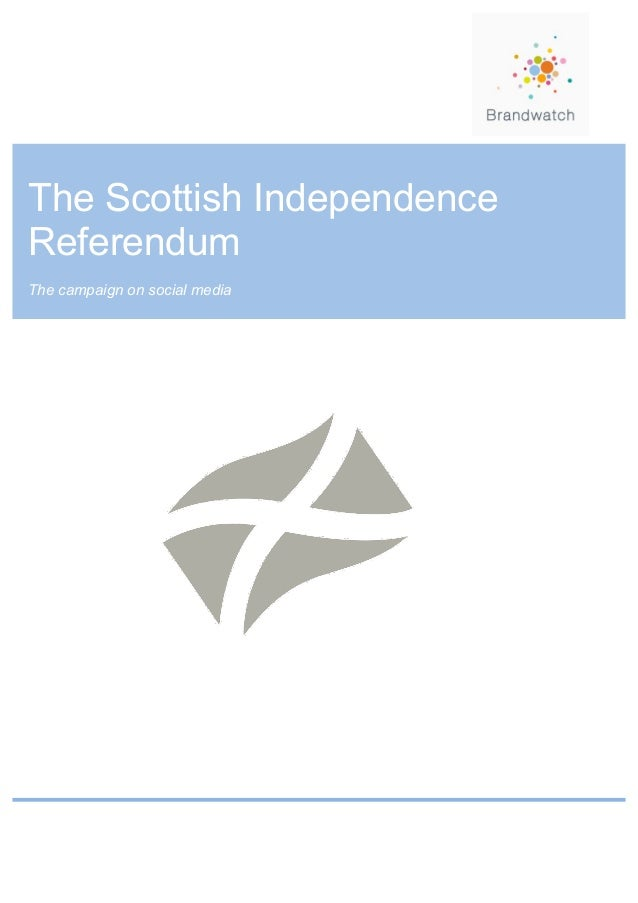 Scottish Independence Referendum Report