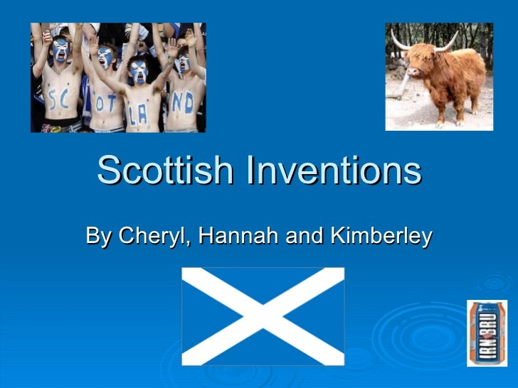 Scottish inventions and discoveries
