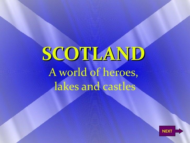 Scottish presentation