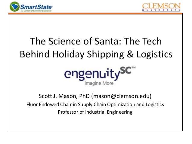 Scott Mason - The Science of Santa
