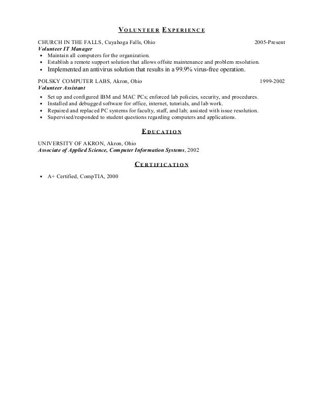 Resume writing services in ohio