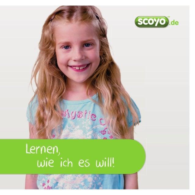 Lernen mit scoyo - Informationen zu Deutschlands Nr.1 Lernplattform