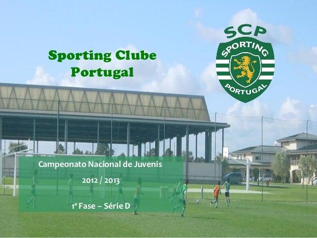 Analise - Sporting C.P. [Sub-17] - 2012/2013