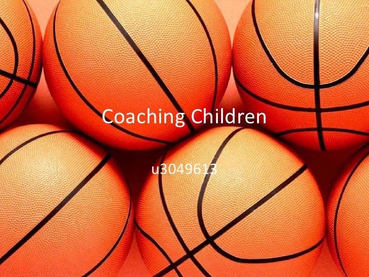 Coaching Children     u3049613