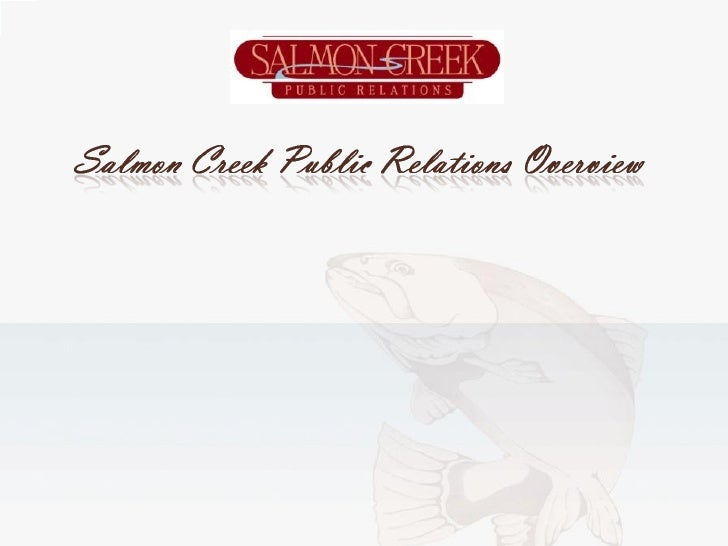 Salmon Creek Public Relations Overview