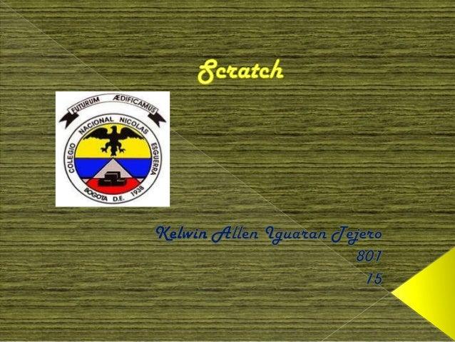 Scratch es una aplicación informática y experimentar con losconceptos de predestinada principalmente a los niños y les per...