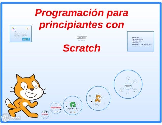 Scratch - programacion para principiantes