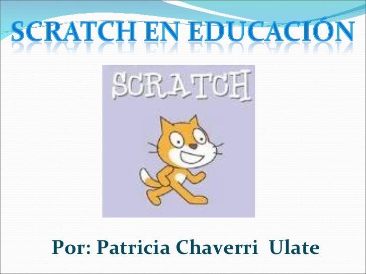 Scratch  en  educación