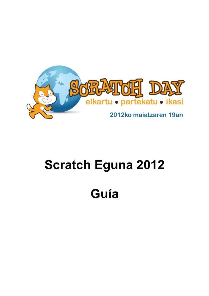 Scratch Eguna 2012 Guía