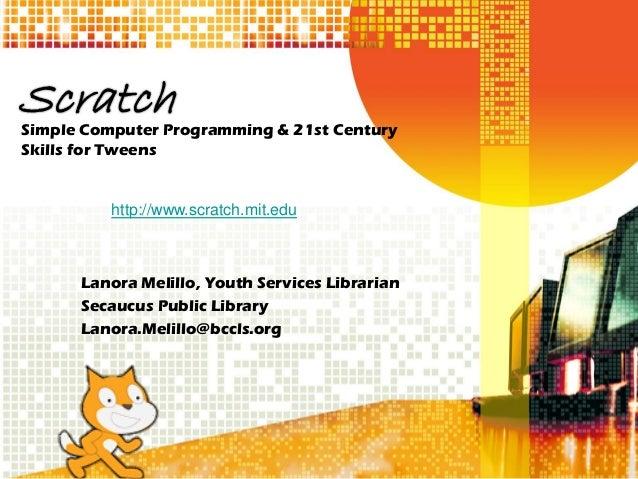 LibraryLinkNJ - Scratch Slides Part 1