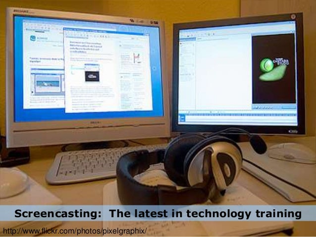 Screencasting: The latest in technology training http://www.flickr.com/photos/pixelgraphix/
