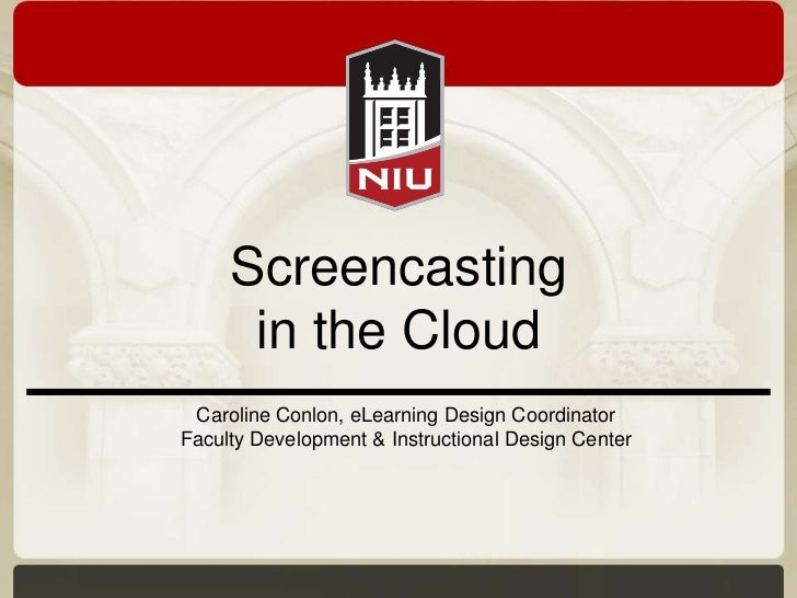 Screencasting in the cloud