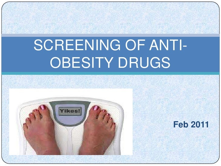 Screening of anti obesity drugs