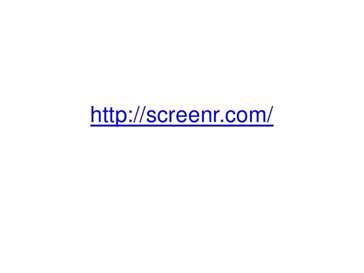 http://screenr.com/<br />