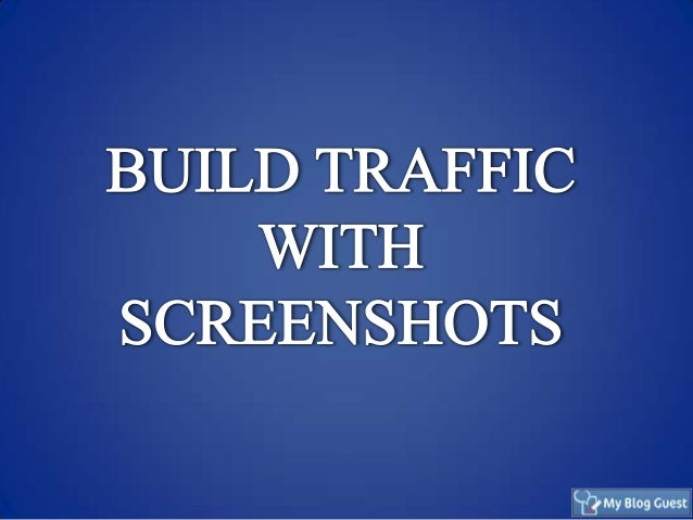 Screenshots as Part of Your Visual Content Marketing