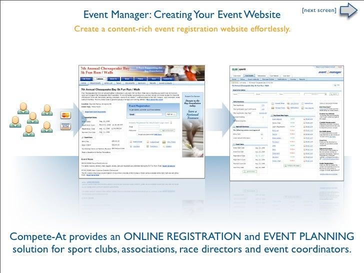 Online Registration - Your Event Website
