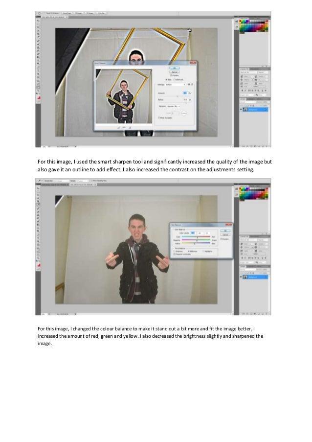 Screenshots of edits 2