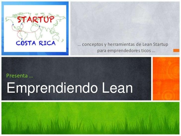 SCR Emprendiendo Lean