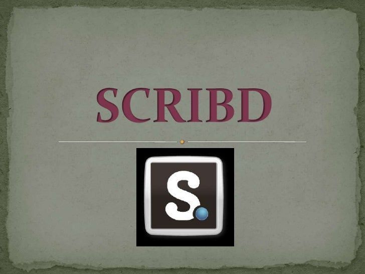 SCRIBD<br />