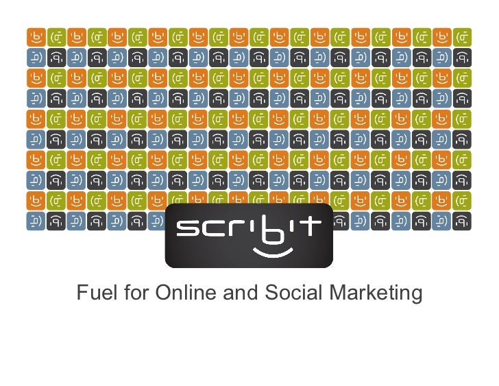 Fuel for Online and Social Marketing