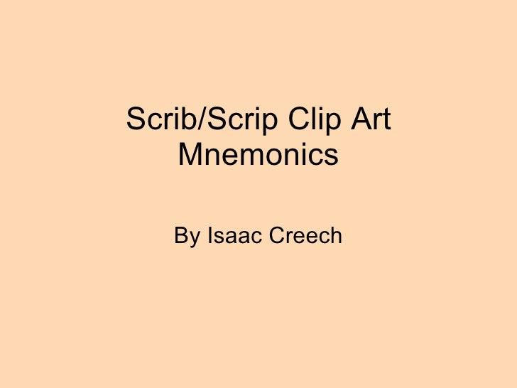 Scrib scrip vocab ppt