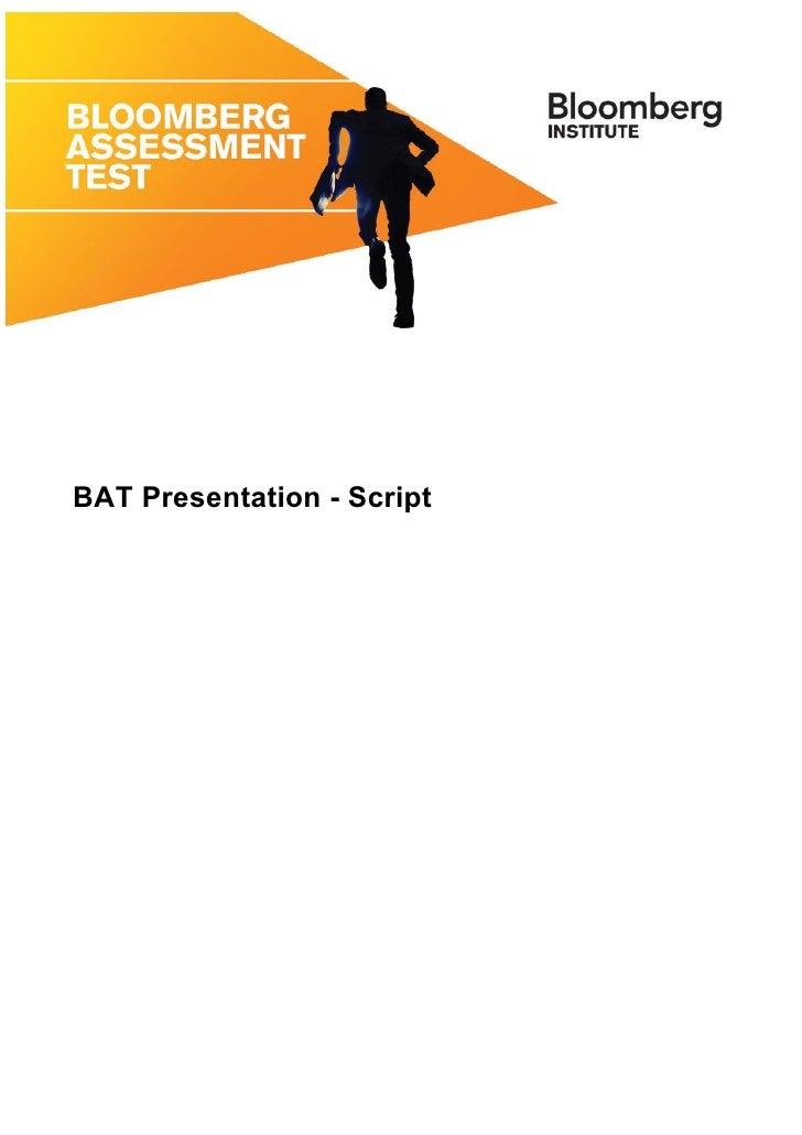 BAT Script