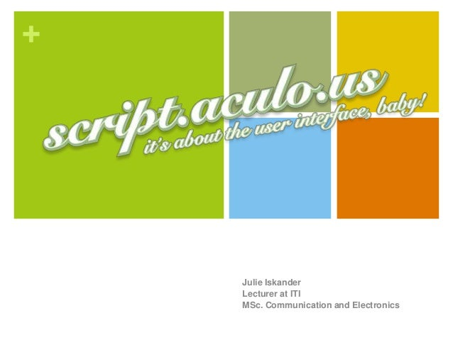 Scriptaculous