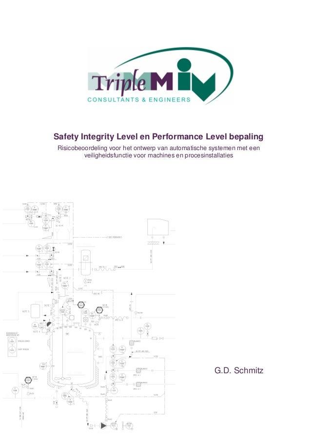 Safety Integrity Level en Performance Level bepalingRisicobeoordeling voor het ontwerp van automatische systemen met een  ...