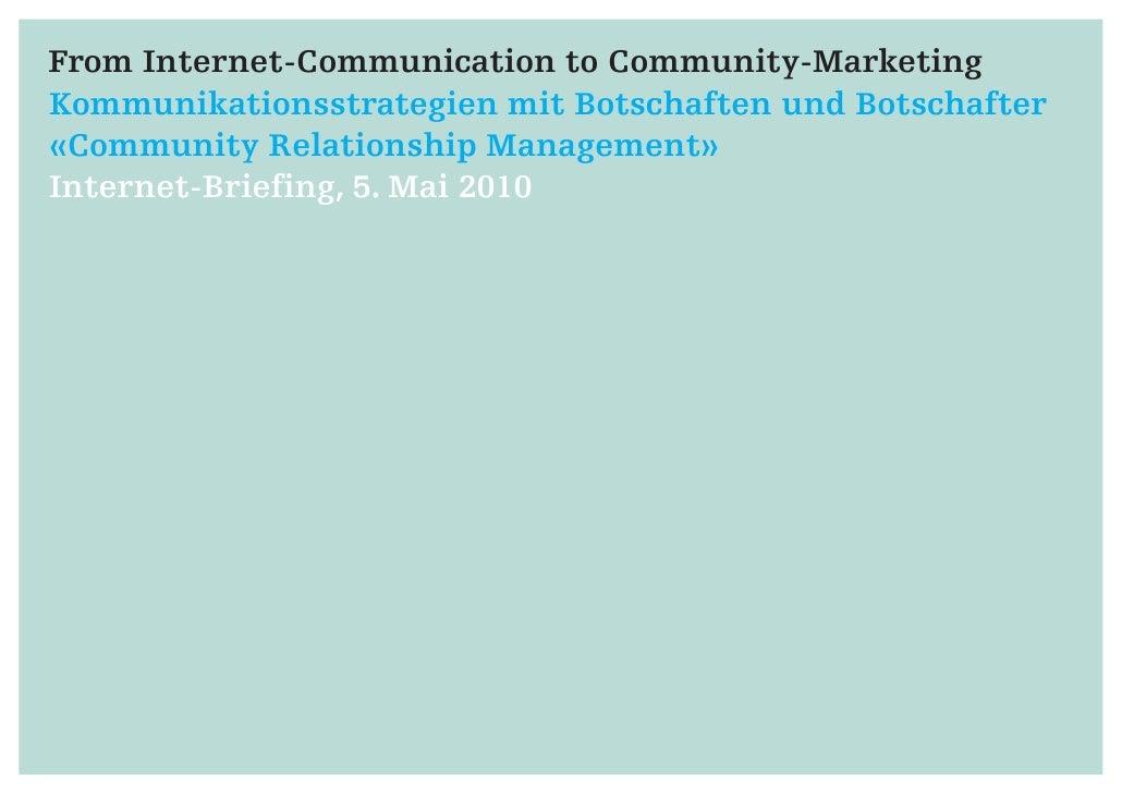 Community Relationship Management
