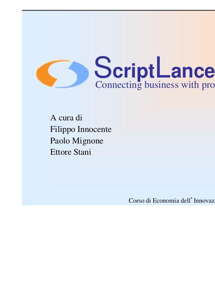 Scriptlance