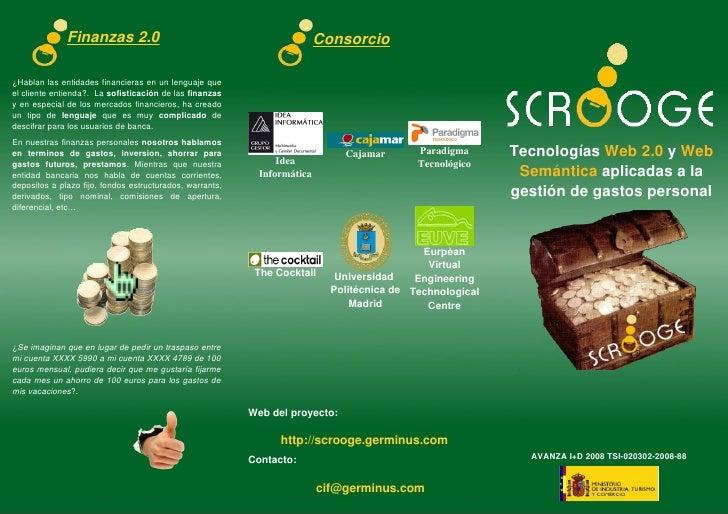 Finanzas2.0                                                     Consorcio  ¿Hablanlasentidadesfinancierasenunlengua...
