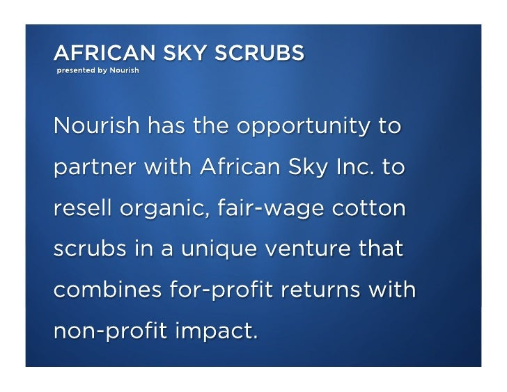 Organic Cotton Scrubs for Mali and the World