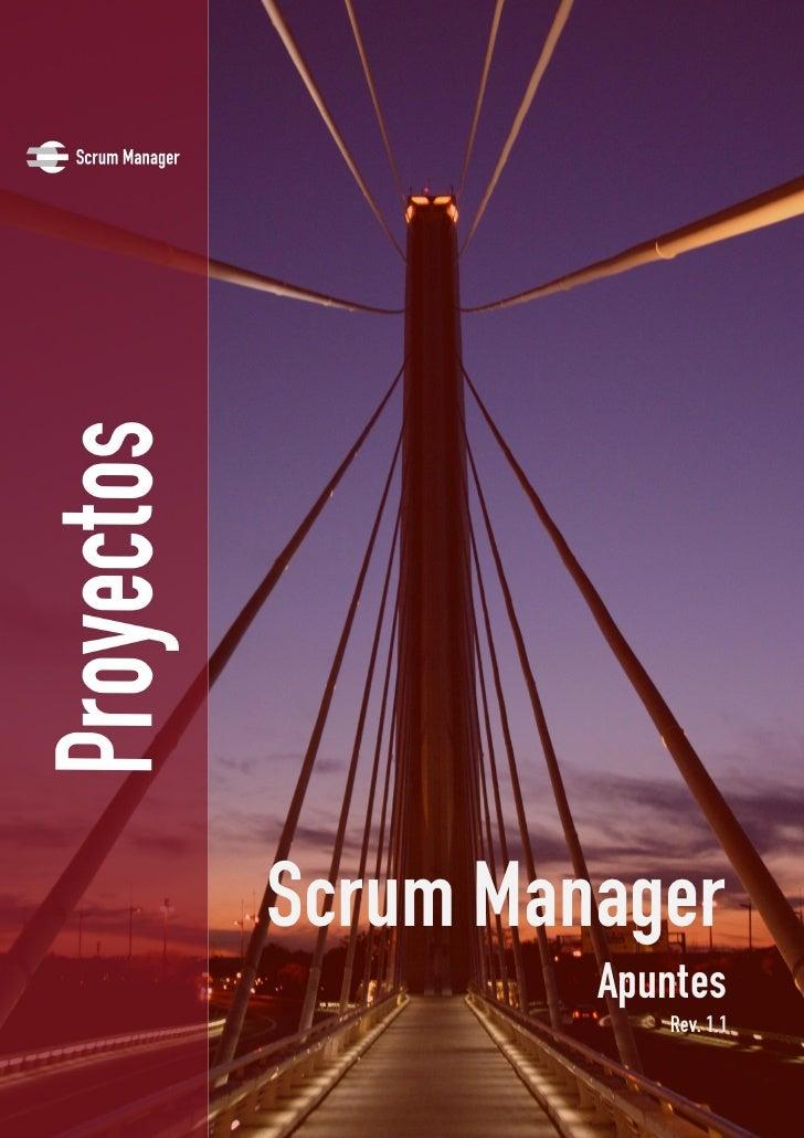 Scrum Manager          Apuntes             Rev. 1.1