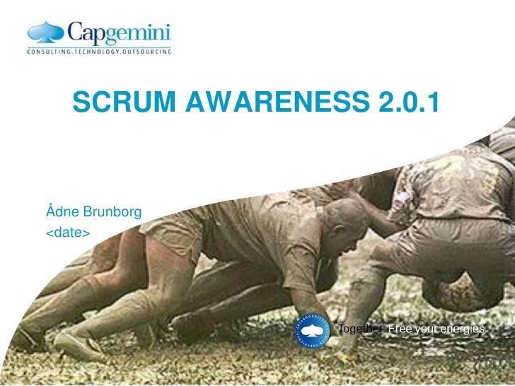 Scrum Awareness 2.0.1