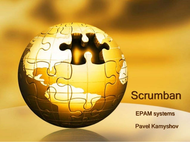 Scrumban EPAM systems Pavel Kamyshov