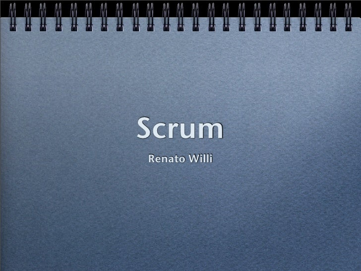 Scrum Renato Willi