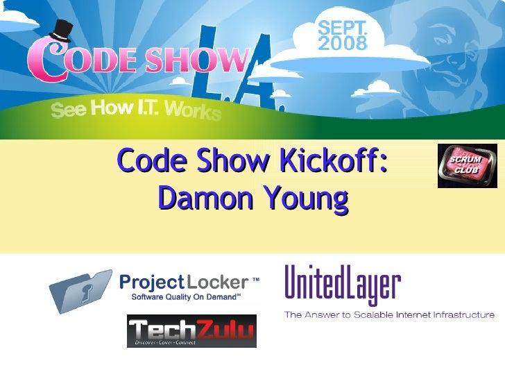 Code Show Kickoff: Damon Young