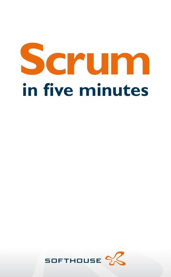 Scrum in five minutes