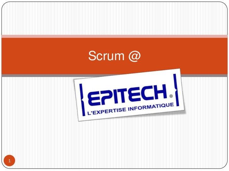 Scrum@epitech