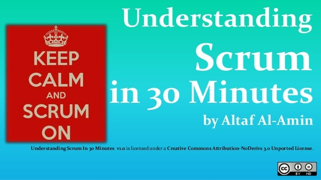 Understanding Scrum in 30 Minutes