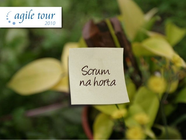 Scrum na Horta - Agile Tour 2010