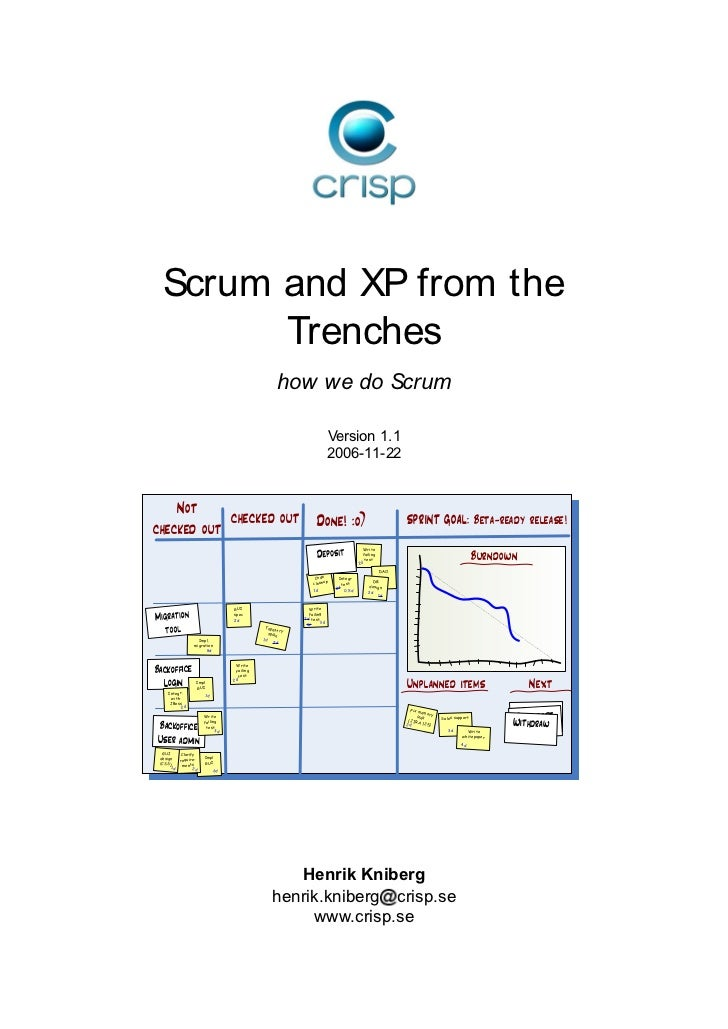 Scrum and XP from the         Trenches                                                      how we do Scrum               ...