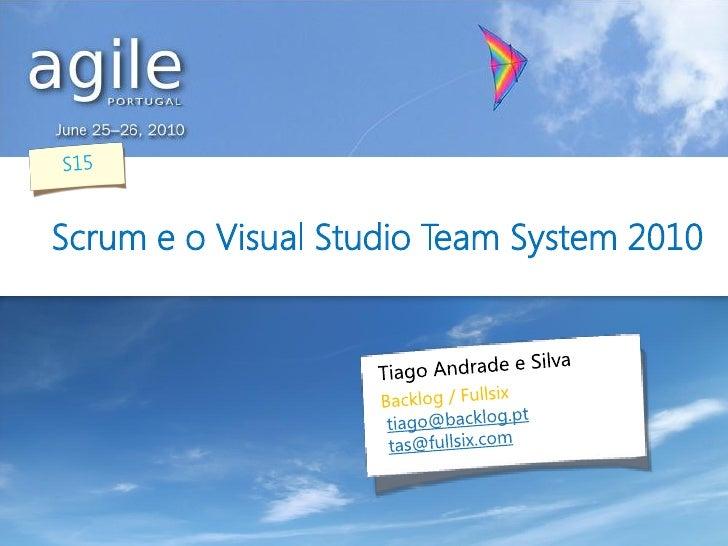 Scrum e o Visual Studio Team System 2010