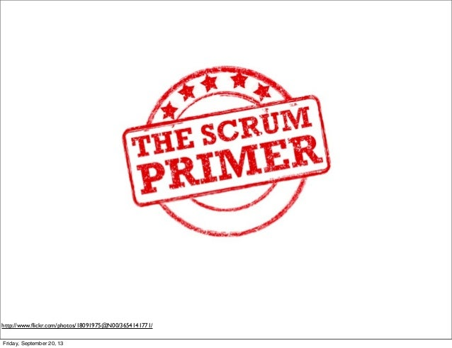 Introduction to Scrum version 3.1
