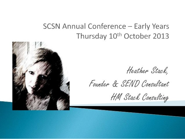 Heather Stack, Founder & SEND Consultant HM Stack Consulting